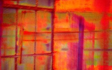 текстура, линии, цвет, краска, штрих