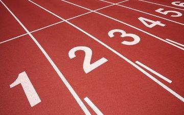 фон, спорт, дорожки, легкая атлетика