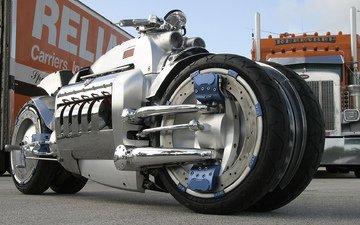 мотоцикл, додж, dodge tomahawk bike