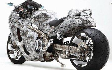 мотоцикл, сузуки, suzuki hayabusa