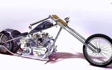 мотоцикл, мясорубка