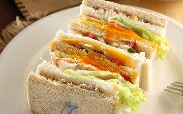 бутерброд, сэндвич
