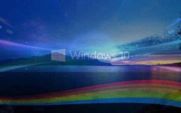 блики, фотошоп, эффекты, windows 10