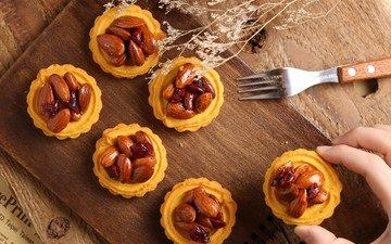 крем для торта, орехи, десерт, пирожные, миндаль, изюм, jane chang photography
