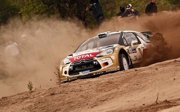 machine, auto, sport, rally, wrc, citroen, ds3