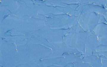 текстура, синий, цвет, голубой, краска, масло, мазки