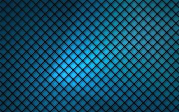 абстракция, фон, синий, сетка, решетка, ромб, квадрат