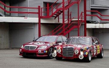 обои, машина, ретро, авто, тачка, 300, автомобили, мерседес, rouge, амг, валлпапер, мерс, s63, avant, sel, 3-4, 6.3, gauche