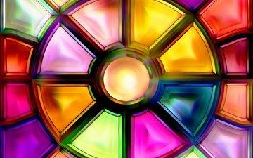 абстракт, фон, цвет, стекло, цветные, витражи, витраж, stained, cтекло