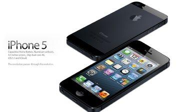 телефон, смартфон, iphone 5, эппл