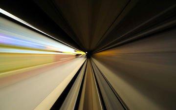 арт, скорость, движение, метро, подземка