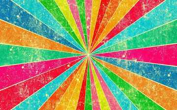 полосы, абстракция, текстура, линии, лучи, цвет, радуга