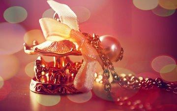украшение, бантик, цепочка, сувенир