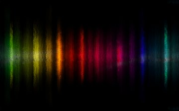abstraction, line, background, paint, color, rainbow, range