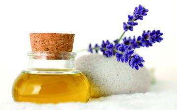 цветы, лаванда, масло, спа, ароматерапия, лавандовое масло