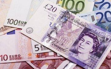 деньги, валюта, купюры, евро