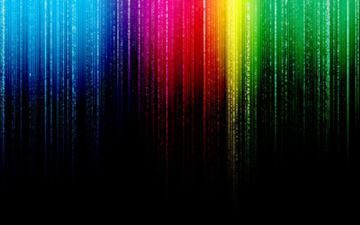 abstraction, line, background, color, rainbow