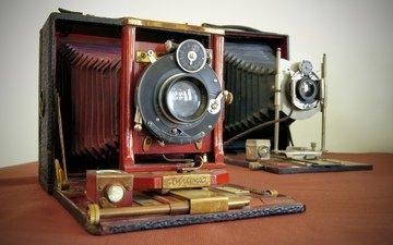 фотоаппараты, корпуса, крупноформатные, объективы