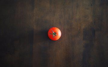 фон, стол, красный, минимализм, тень, овощи, помидор, томат