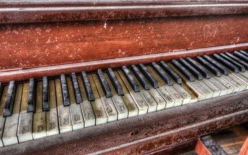 макро, музыка, пианино, клавиши, рояль, музыкальный инструмент, фортепиано