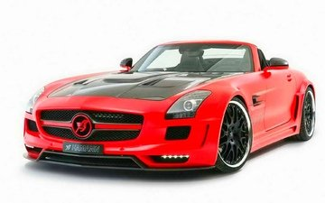 tuning, ., sports car, hamann, sls, mercedes, amg.