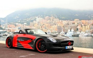 tuning, sports car, hamann, amg, sls, mercedes