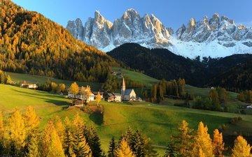 горы, холмы, швейцария, альпы, ландшафт, дом в горах, apls