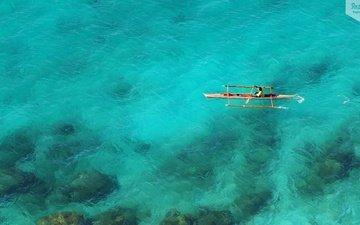 nature, island, bay, philippines, boracay