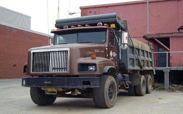 машина, склад, гараж, грузовик, tatra