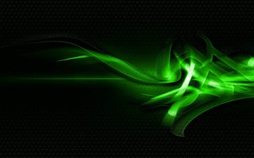 green, graphics, the dark background