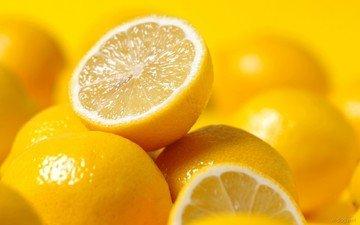 фрукты, лимоны, цитрусы