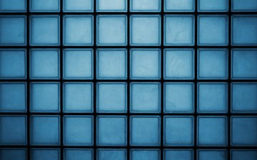 light, texture, line, background, blue, wall, cells, squares, glass, cell, mosaic, blocks