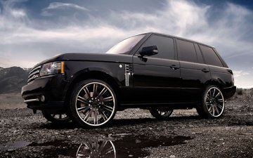 clouds, auto, machine, tuning, drives, land rover, range rover