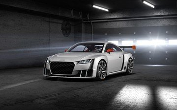 audi, concept, tt, 2015, turbo, clubsport