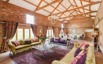 интерьер, шторы, комната, диваны, гостиная