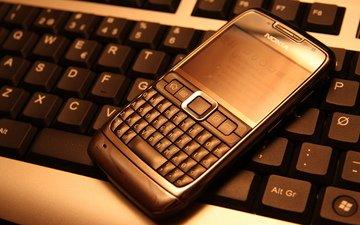 клавиатура, телефон, нокия, nokia e71, кверти
