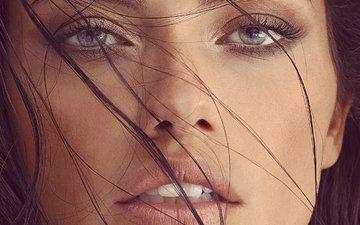 девушка, портрет, модель, лицо, адриана лима