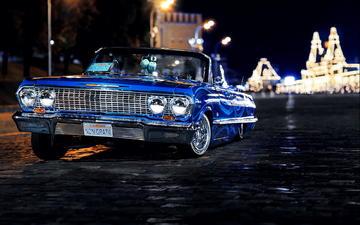 chevrolet, 1963, impala
