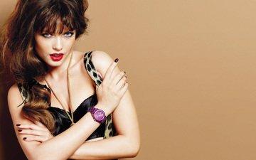 watch, model, red lipstick, sandra hellberg, sandrah hellberg