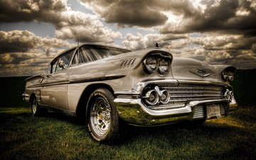 chevy, american muscle, antique