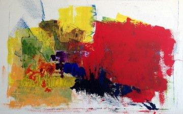 рисунок, абстракция, текстура, цвет, форма, краска