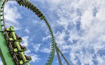 mood, adrenaline, attraction, slides, american, loop