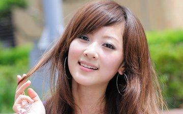 девушка, портрет, взгляд, модель, волосы, лицо, японка, азиатка, азиат, gевочка, микако