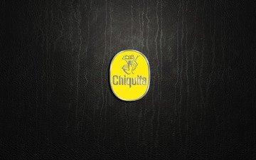 лого, жёлтая, international, бренды, chiquita