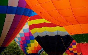 текстура, цвет, ткань, воздушный шар