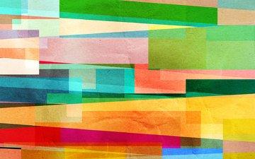 абстракция, линии, цвет, окрас