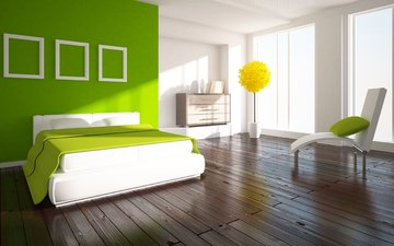 стиль, интерьер, дизайн, спальня