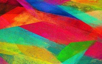 абстракция, линии, узор, краски, цвет