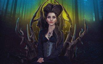 art, girl, fantasy