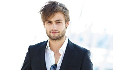 smile, actor, shirt, jacket, douglas booth